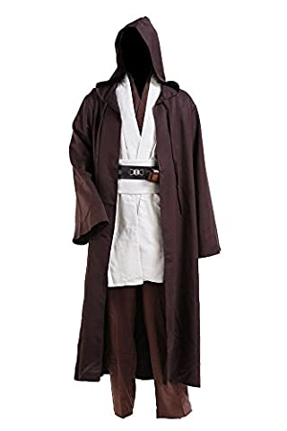 Star Wars Yoda Jedi Obi Wan Kenobi Cospaly Kostüm Tunika