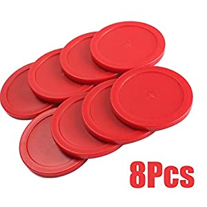 lzn 8PCS Hockey Puck Pet Rot 63mm
