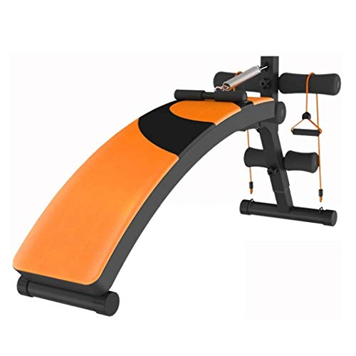 Bauchtrainer, Bauchmuskeltrainer, Verstellbare Fitness Crunches Maschine Workout Trainingsbank Taillentrimmer 5 Minuten Shaper Home Trainer
