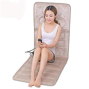 YjfGuoYa Elektrische Heizmassage Für Halswirbelsäule, Schultern, Taillenbein, Intelligente Simulation des Menschlichen Massagekissens, Entlasten Körperschmerzen