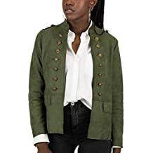 Chaqueta Mujer Militar es Verde Amazon vBqw50xTv