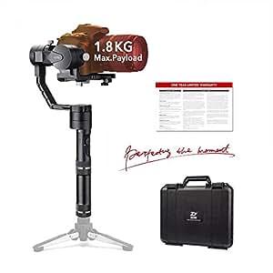 Zhiyun Crane 3Axis Handheld Gimbal Stabilisateur pour appareil photo sans miroir et DSLR jusqu'à 3.96lb. C'Est-à-dire série Canon M, Series Nikon J, Sony A7et Panasonic Lumix