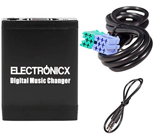 Elec-M06-BEK Adapter für USB, SD AUX für Becker Porsche Mercedes Ford 8 Pin Autoradio CD-Wechsler MP3-Player