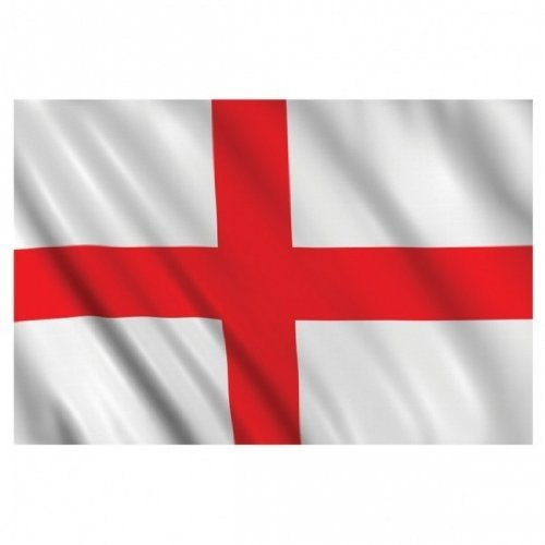 World Flag Shop 5FT X 3FT ENGLAND ST GEORGE CROSS 16TH CENTURY FLAG (PACK OF 3) -