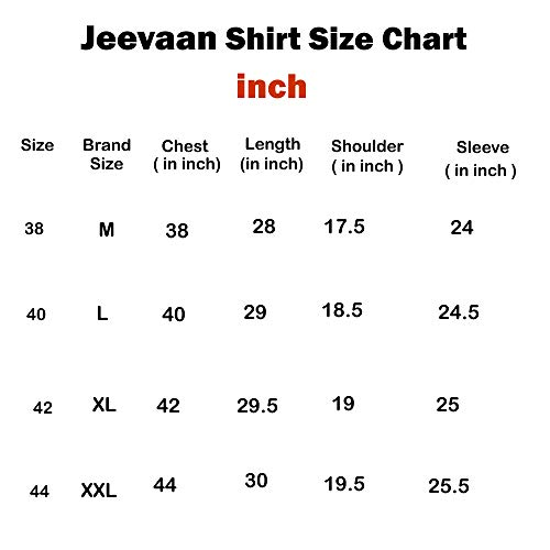Jeevaan Men's Cotton Plain Solid Slim Fit Casual Shirt (Maroon, XL)