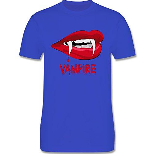 Halloween - Vampire Blut - Herren Premium T-Shirt Royalblau