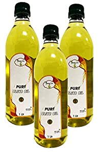 AweLiv Pure Olive Oil ((Spanish Oil)) - 1 LTR ((Pack of 3))