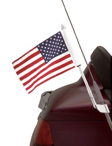 Show Chrome Accessories SHOW chrom Zubehör 52–713Antenne Halterung USA Flagge Pole-Kit (Usa Kit Flag)
