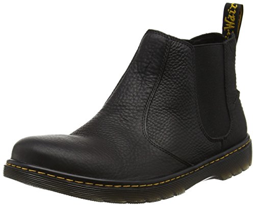Dr. Martens Lyme Grizzly Black, Men's Chelsea Boots, Black, 9 UK