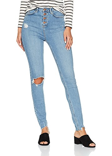 New Look Tall Women's Highwaisted Ripped Skinny Jeans