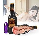 QVQV Sexspielzeug Cup-Masturbatoren Taschenmuschi für Männer, 3D Realistisch Vagina Muschi Masturbation Gummimuschi Sexspielzeug für Männer(Obsession-Textur)