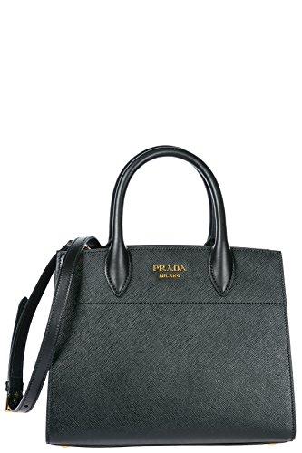 Prada Handtasche Damen Tasche Schultertasche Messenger Bag Schwarz