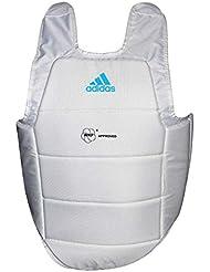Curvy Kárate Adidas Kumite Homologado WKF blanco Talla:Small