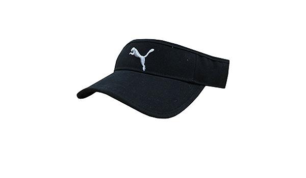 Puma - Casquette visière - Homme - Noir - Taille Unique : Amazon ...