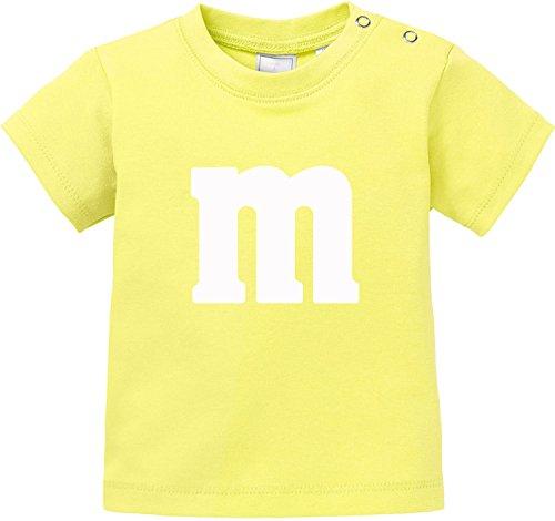 sching | Junggesellenabschied | Gruppen & Paar Kostüm mit M Aufdruck Baby T-Shirt Bio Baumwolle ()