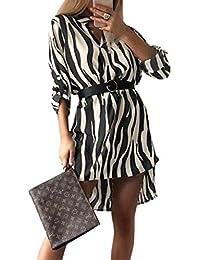 Amazon.it  vestito leopardato - Vestiti   Donna  Abbigliamento 8620d228e07