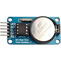 fgyhtyjuu RTC DS1302 Tiempo Real módulo de Reloj para Arduino AVR Arm PIC SMD