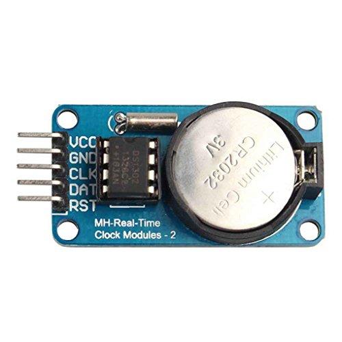 Uzinb RTC DS1302 Echtzeituhr-Modul für Arduino AVR ARM PIC SMD (Audio Car Smd)