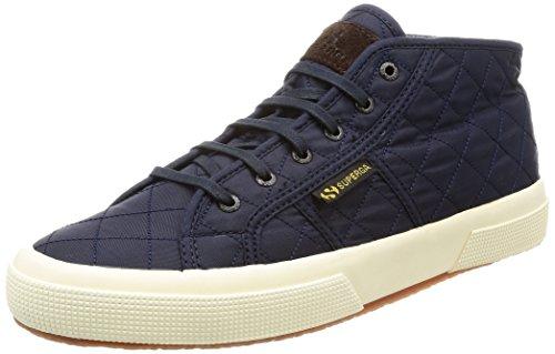 Superga 2754Quiltnylu Sneaker a Collo Alto Unisex Adulto Navy 40 EU J7E