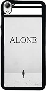 PrintVisa Love Alone Back Cover for HTC Desire 826 (2D-HTCD826-D7832)