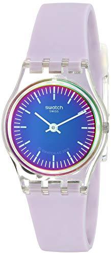 Swatch Orologio Analogico Quarzo Donna con Cinturino in Silicone LK390