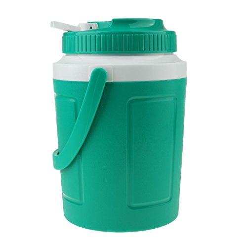Homyl Eiswürfelbehälter Kunststoff Eiseimer Eisbehälter für Picknick - Grün 2L