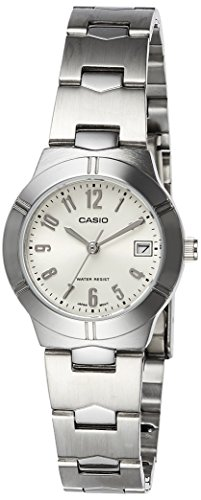 Casio (LTP-1241D-7A2DF|A852) Enticer White Dial Women's Analog Watch image