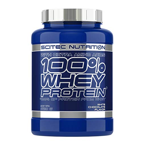 Scitec Nutrition Whey Protein Proteína Chocolate Blanco - 920 g