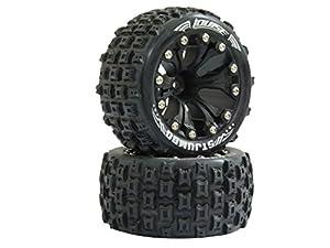 Jamara - 052869 - Neumáticos y Llantas - ST-Jumbo - 12 mm - 1/2 OS - Escala 1/10