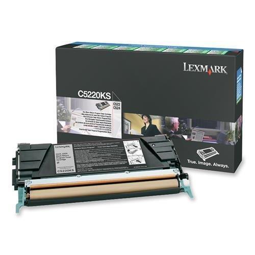 Lexmark C522/C524/C530/C532/C534Schwarz Return Program Toner 4000Ergiebigkeit -