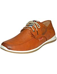 Human Steps Casual Sneaker Tan Shoes for Men