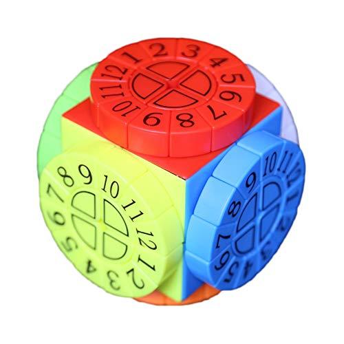 egelmäßige Geschwindigkeit Cube Composite Puzzles Magie Cube Festgelegt Für Gehirn Teaser Gehirn Ausbildung Spiel ()