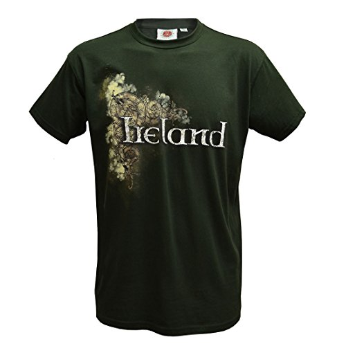 Traditional Craft Flasche Keltisch Irland Herren T-Shirt (klein) - Flasche, XXX-Large