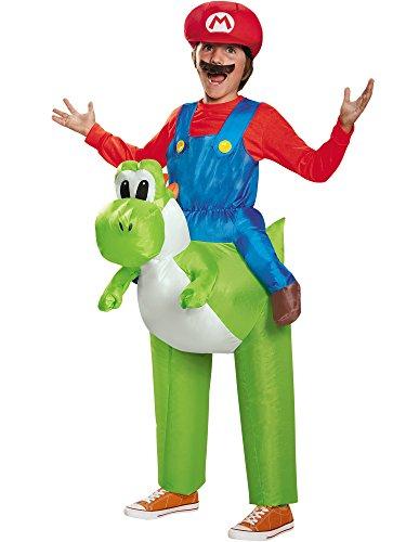 Generique - Aufblasbares Nintendo Yoshi Kostüm für Kinder ()