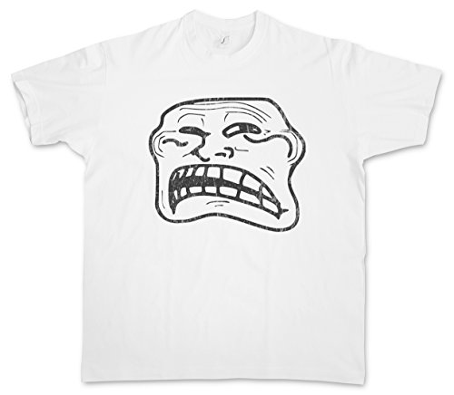 Urban Backwoods Disgusted Meme T-Shirt – Taglie S – 5XL Bianco