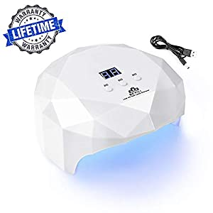 [UPGRADE] Nail Lamp, 36W LED UV GEL Nail Lamp Light with 30s/60s/90s Timer, Professional Nail Cure Dryer Machine for Home Salon