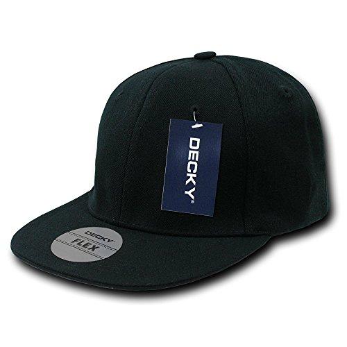 Decky Acrylic Flat Bill Flex Baseball Cap