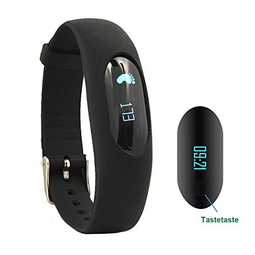 Willfu Fitness Armband Schrittzähler Uhr Ohne Bluetooth Fitness Tracker Aktivitätstracker Smart Armbanduhr mit Schlafüberwachung, Kalorienzähler, Entfernung, Touch Bildschirm für Damen Herren