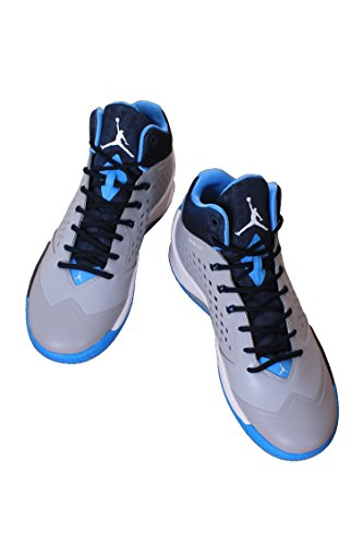 Jordan Rising haut noir / anthracite / noir Chaussures de basket Wolf Grey/University Blue/Midnight Navy