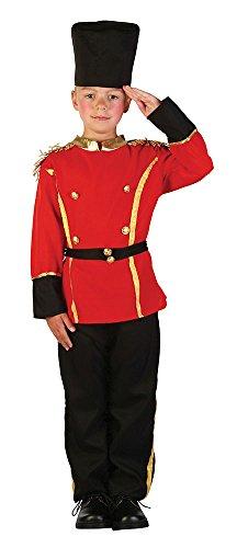 Bristol Novelty Kostüm British Guard/Leibgarde, Schwarz