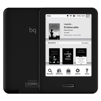 BQ Cervantes HD - Tablet eBook (HD, 6