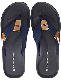 Tommy Hilfiger Herren Corporate Stripe Beach Sandal Zehentrenner