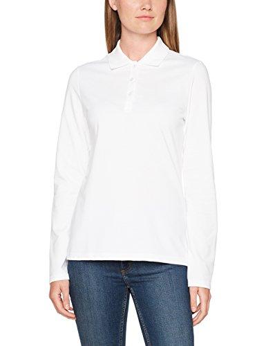 Trigema Damen Poloshirt 5216531 Weiß (Weiss 001)