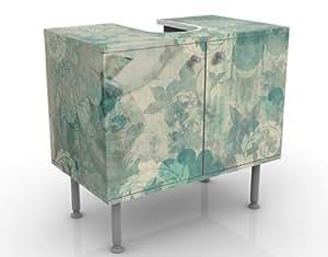 Best season meuble sous lavabo design bordeaux 60 x 55 x 35 cm-design