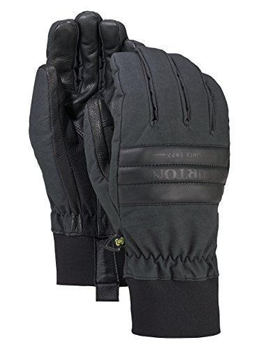 Burton Herren Dam Gloves Snowboardhandschuhe, True Black Wax, L