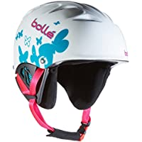 Bollé B-Kid Casco da Sci, White, 53-58 cm