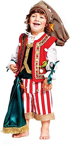 Carnevale Venizano CAV50624-2 - Kleinkindkostüm PESCATORE NEONATO - Alter: 0-3 Jahre - Größe: 2