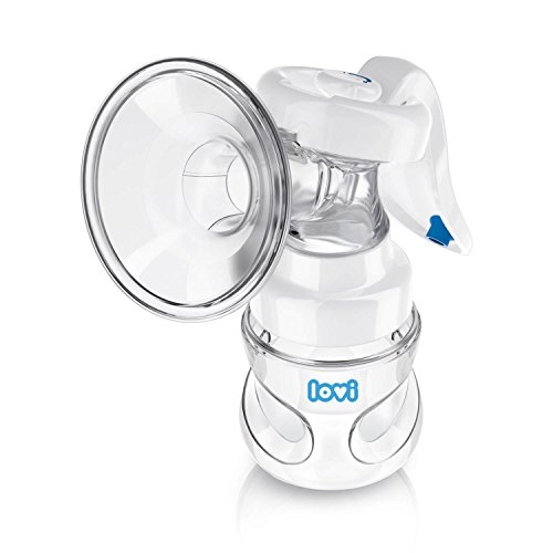 Lovi 5/500med_exp 2-Phase manuelle Milchpumpe Protect, weiß