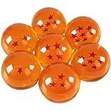 Bolas de dragón, 7 bolas de dragón con las estrellas correspondientes, para cosplay de Son Goku