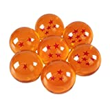 Katara - Les 7 Boules du Dragon Ensemble de 7 Dragon Balls Sept DragonBalls Z - diamètre 4cm - Cosplay Anime Manga Costume Goku